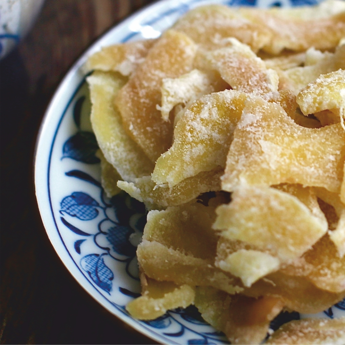 Mứt Gừng. Dry candied ginger