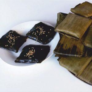 Bánh Gai. Gai leaf cake