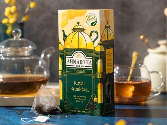 Ahmad Tea Pyramids