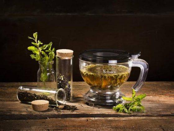 Oriental Teamarket teabox